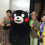 ピアノランドフェスティバル熊本、くまモンも来てくれました♪