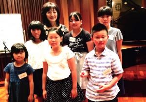 7/21 ヤマハ銀座店公開レッスン