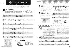 『ピアノランドたのしいテクニック』中巻より レッスン15 ユニゾンとハーモニー