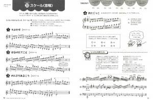 『ピアノランドたのしいテクニック』中巻より レッスン20 スケール(音階)
