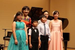 札幌PLF出演の子ども達と20160817