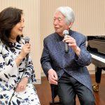 舘野泉先生と一期一会のコンサート 胸がいっぱいです